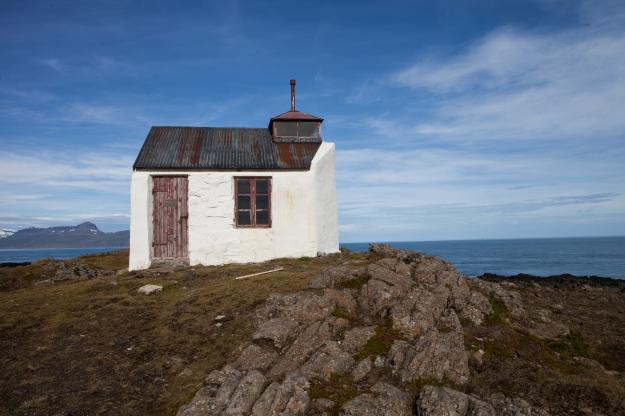 ancien phare Mjoifjordur, Islande ©
